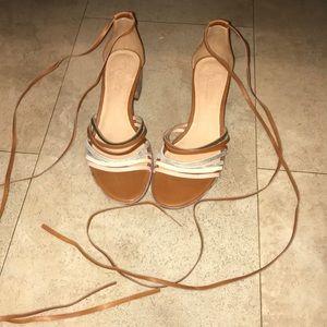 Madewell Gladiator Strap Sandals